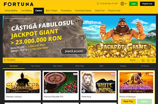 joaca la fortuna online