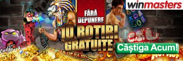 Winmasters 10 Rotiri Gratuite