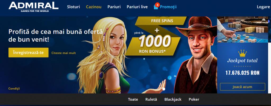 novomatic admiral cazinou